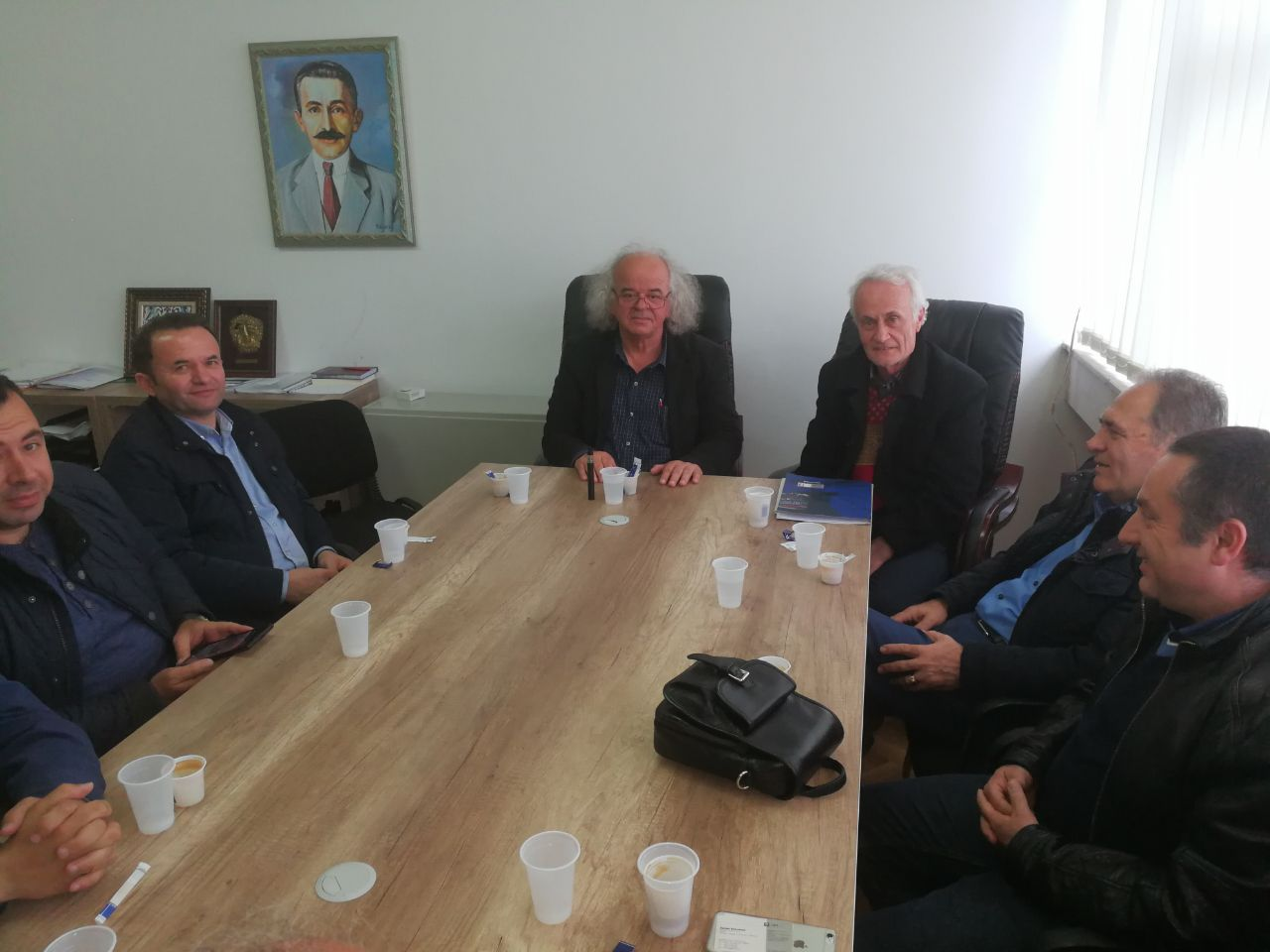 Meeting in Pristina, April 2017